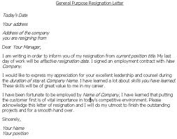 Good tips for writing an effective resignation letter see sample format below thecheapjerseys Gallery